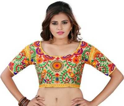 K.C Cotton Embroidered Blouse Material