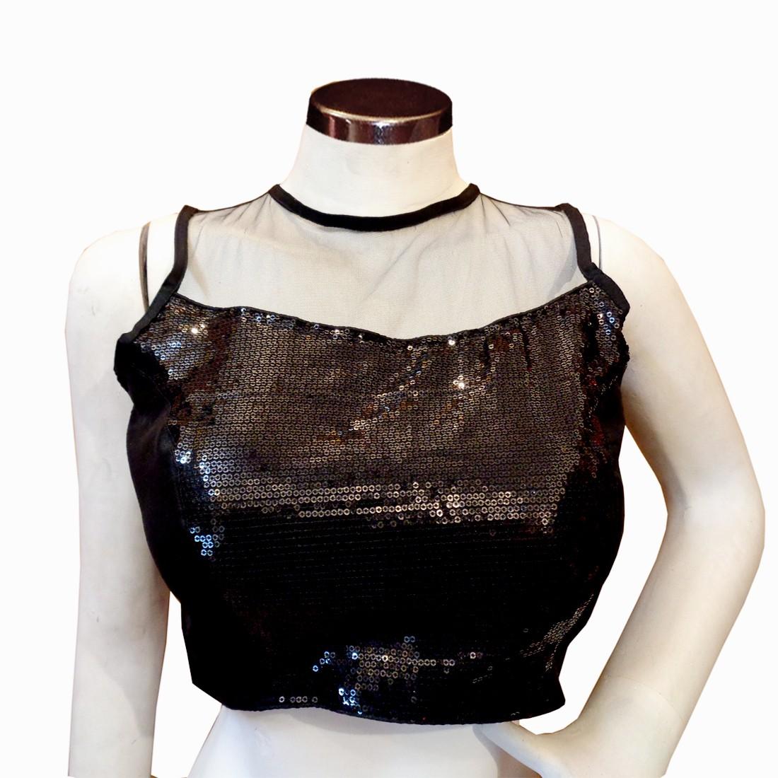 Urban Blouse Fashion Neck Womens Stitched Blouse