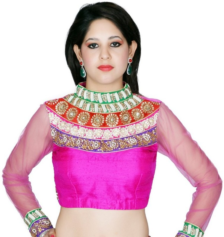 Tehzeeb Fashion Neck Women's Stitched Blouse