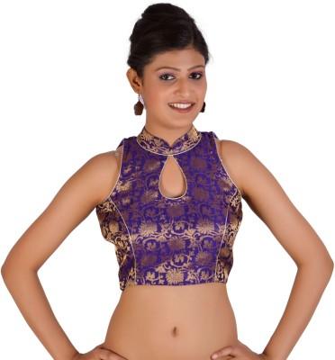 Inblue Fashions Band collar Women's Blouse