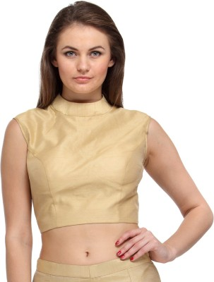 Just Wow Band collar Women's Blouse