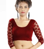 Abhi Round Neck Women's Stitched Blouse