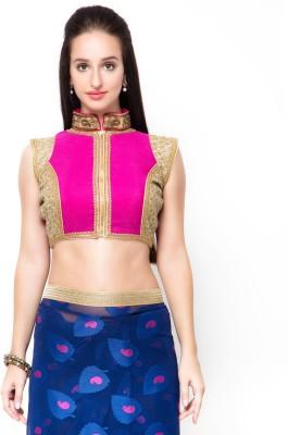 Admyrin Band collar Women's Stitched Blouse at flipkart