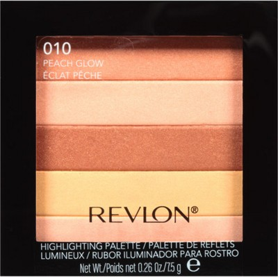 Revlon Highlighting Palette(Peach Glow - 010)