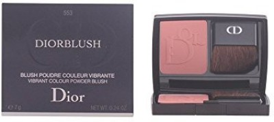 Christian Dior Dior Blush Vibrant Color Powder Blush Cocktail Peach for Women, 0.2 Ounce