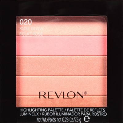 Revlon Highlighting Palette(Rose Glow - 020)