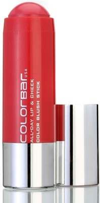 Colorbar All Day Lip & Cheek Color Blush Stick(Orange Amber-003)