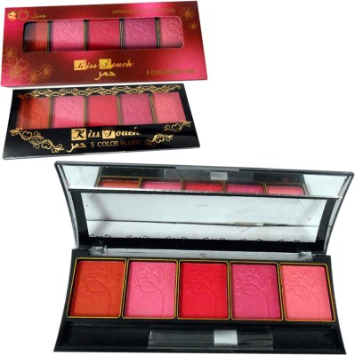 Kiss Touch 5 Color Blush Good Choice-AUUO