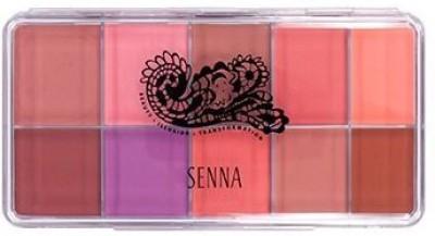 Senna Cosmetics Cosmetics Slipcover Palette, Vivid Matte Blush and Lip, 2.7 Ounce(Multicolor)