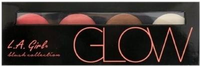 LA Girl USA Cosmetics L.A.Girl Beauty Brick Blush Glow Collection Palette w/ Mirror #GBL571