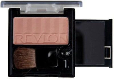 Revlon Powder Blush - Matte With Pop-Up Mirror, Barely Buff 004 .18 oz (5.1 g)(Multicolor)