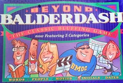 Parker Brothers Beyond Balderdash Board Game