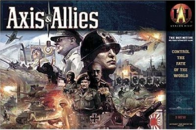 Avalon Hill Axis And Allies Revised Board Game