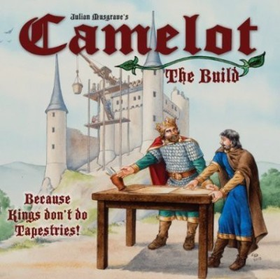 Wotan Games Camelot The Build Board Game