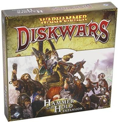 Fantasy Flight Games Warhammer Diskwars Hammer And Hold Expansion Board Game