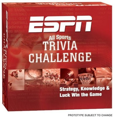 USAopoly Espn Trivia Board Game