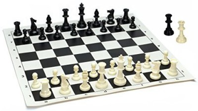 WE Games Best Value Tournament Chess Set Filled Chess Pieces Board Game