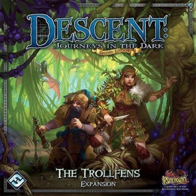 Fantasy Flight Games Descent Second Edition The Trollfens Expansion Board Game