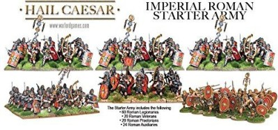 Warlord Games Imperial Roman Starter Army Set Classic Military Infantry Board Game