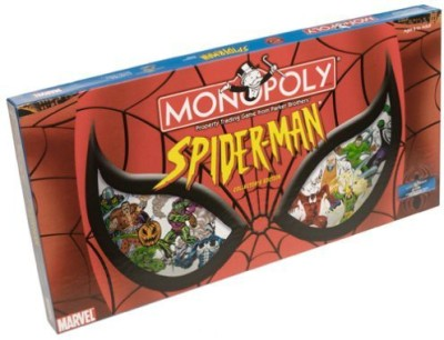 USAopoly Spiderman Monopoly Board Game