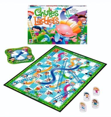 Hasbro Chutes and Ladders Board Game Board Game
