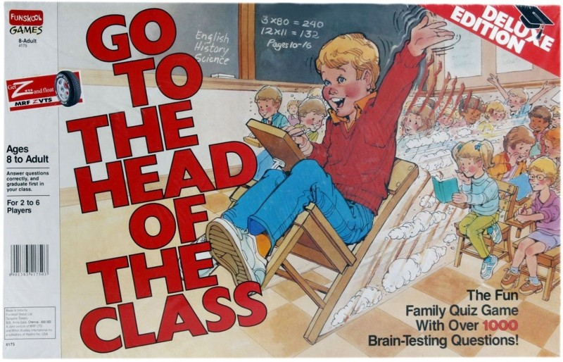 Funskool Go to the Head of the Class Board Game