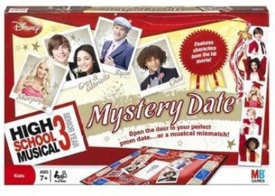 Milton Bradley High School Musical 3 Mystery Date Board Game