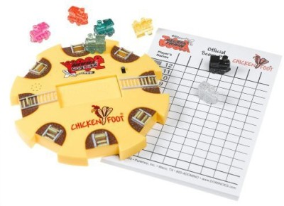 Puremco Mexican Train And Chicken Centerpiece Kit Board Game