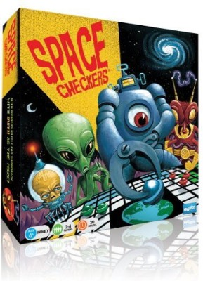 Wiggles 3D Space Checkers Board Game