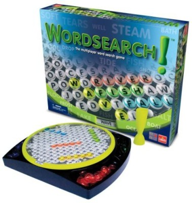 Goliath Games Wordsearch Hidden Word Puzzles For Multiple Players Board Game