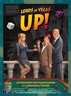 Mayfair Games Lords Of Vegas Up Board Game