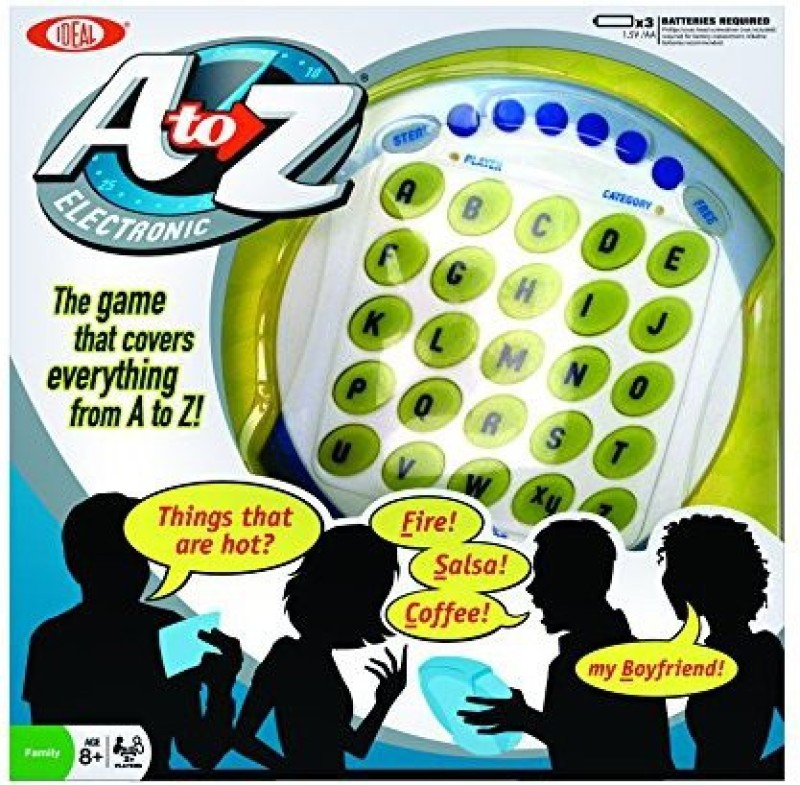 Ideal Electronic A To Z Board Game