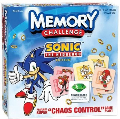 Memory Sonic The Hedgehog Board Game