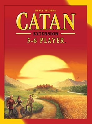 Mayfair Games Catan 5-6 Player Extension 5Th Edition Board Game