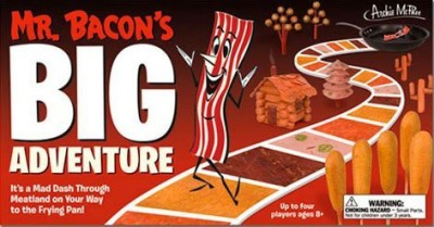 Accoutrements Mr Bacon,S Big Adventure Board Game