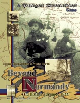 Panzer Grenadier - Boxed Games Beyond Normandy Board Game