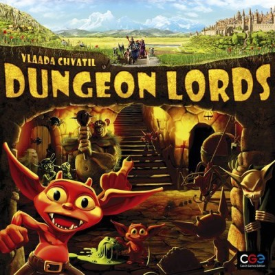 Czech Games Dungeon Lords Board Game