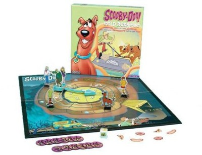 Scooby Doo Gold Rush Board Game