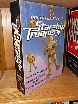 Avalon Hill Game Company Robert Heinlein,S Starship Troopers Bookcase Board Game