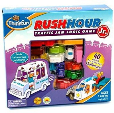 Think Fun Rush Hour Jr Board Game