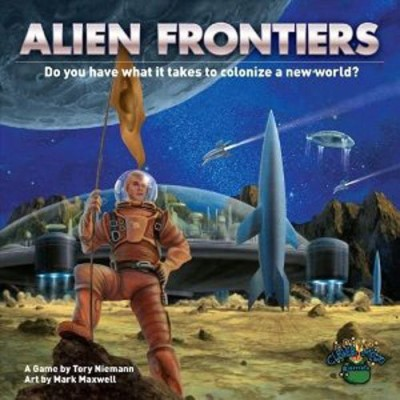 Clever Mojo Games Alien Frontiers Board Game