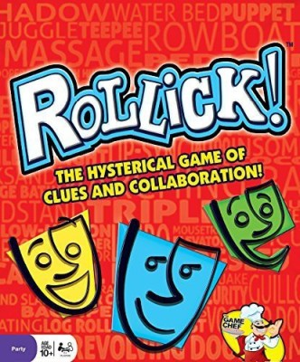 The Game Chef Rollick The Hysterical Team Charades Party Board Game