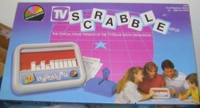 Selchow & Righter Tv Scrabble Board Game