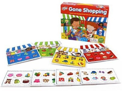 Galt Toys, Inc. Galtinc Gone Shopping Board Game