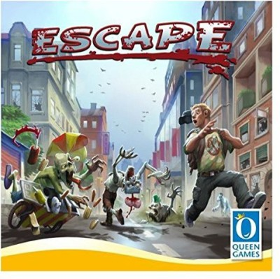 Queen Games Escape From Zombie City Board Game