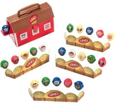Mattel Uno Moo Preschool Board Game