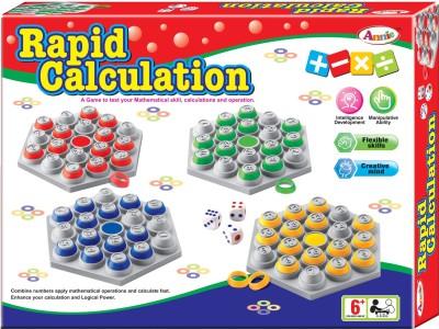 Lotus Rapid Calculation Board Game