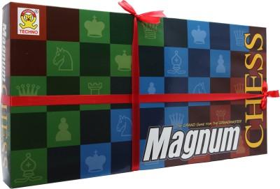 Techno Magnum Chess Set Board Game