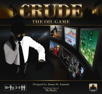 Stronghold Games Crude The Oil Board Game