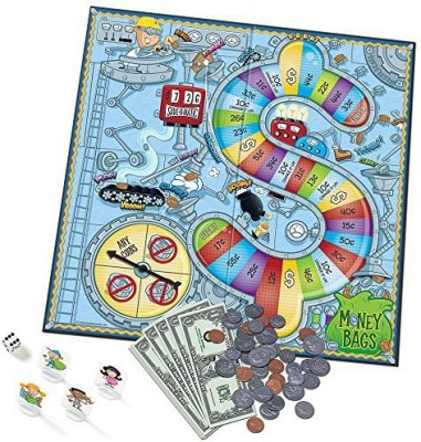 Learning Resources Money Bags Coin Value Educational Board Game